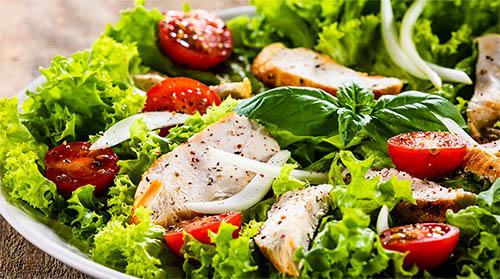 Salade du beau Soleil à Annecy