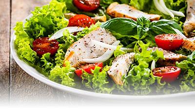 Nos entrées et salades du restaurant le beau soleil à Annecy
